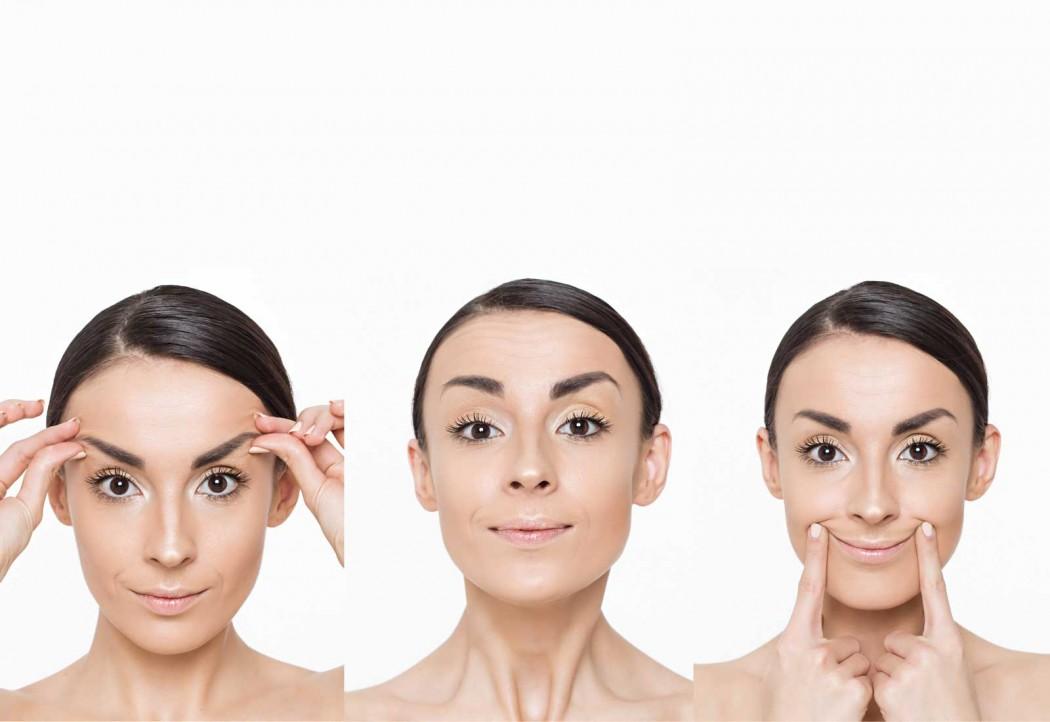 Ginnastica facciale: torniamo splendenti con 5 semplici mosse.