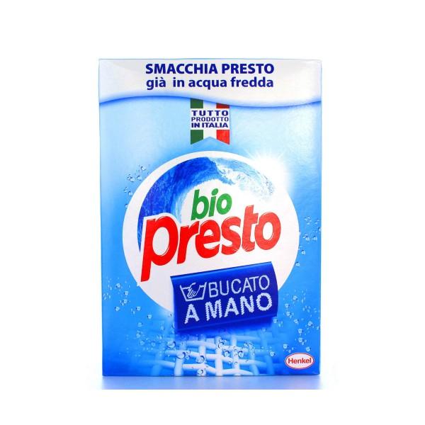 BIO PRESTO DETERSIVO BUCATO A MANO IN POLVERE 600 GRAMMI, BUCATO A MANO, S001075, 10109