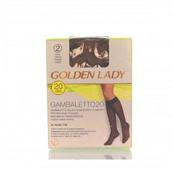 GOLDEN LADY GAMBALETTO 20 DEN MELON TAGLIA UNICA