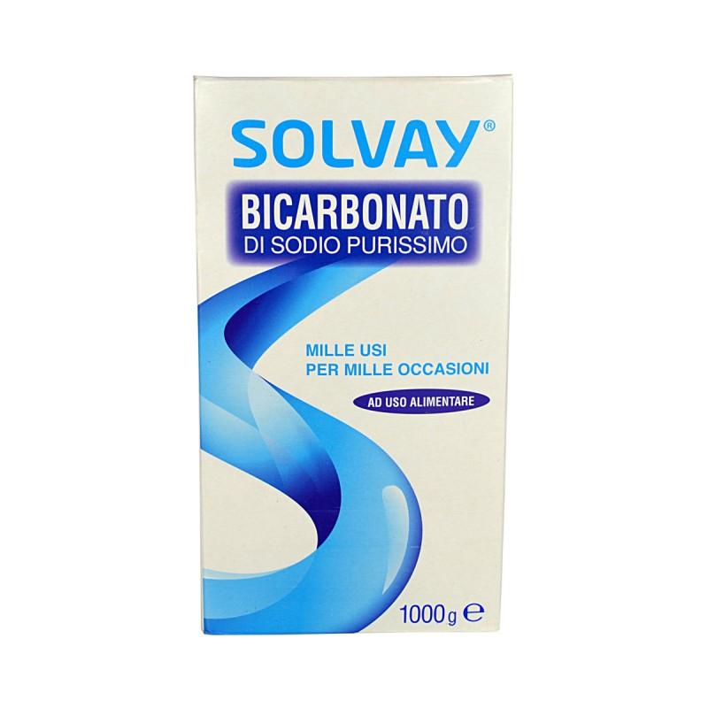 SOLVAY BICARBONATO 1000 gr.