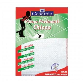 PANNO PAVIMENTO CHICCO SUPER CANDIDO GRANA DI RISO 45X60 IMBUSTATO