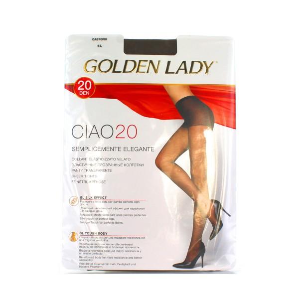 GOLDEN LADY CIAO COLLANT 20 DEN CASTORO TAGLIA 4         , CALZE, COLLANT & GAMBALETTI, S016569, 1089