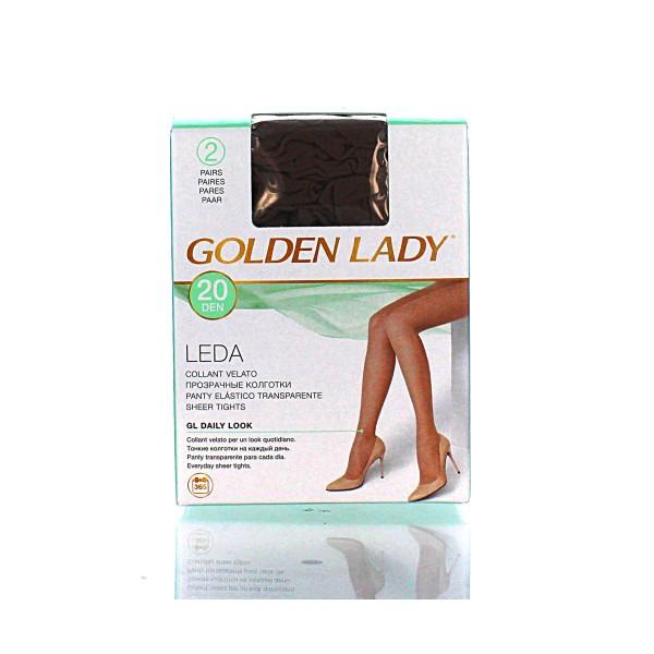 GOLDEN LADY LEDA 20 22A DAINO 2 PAIA TAGLIA 2    , CALZE, COLLANT & GAMBALETTI, S016609, 1266