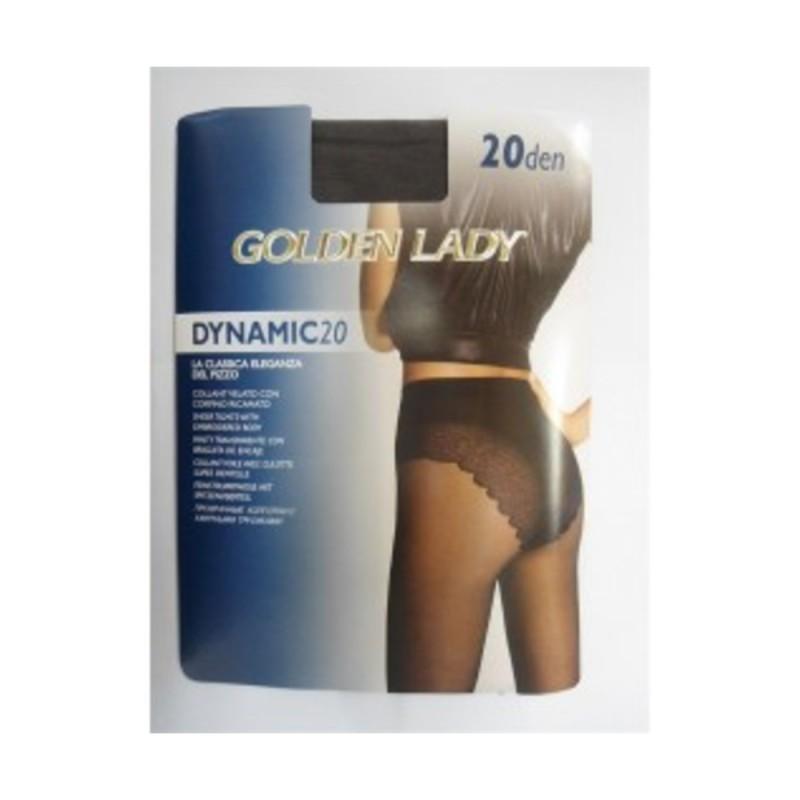 GOLDEN LADY DINAMIC COLLANT 20 DEN DAINO TAGLIA 2