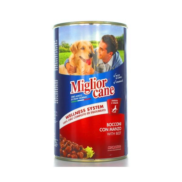 MIGLIOR CANE BOCCONI MANZO LATTINA 1250 GR, NUTRIZIONE, S009342, 13540