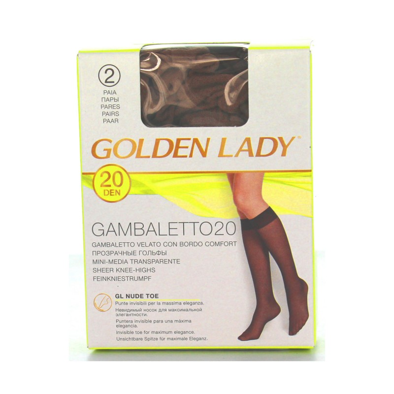 GOLDEN LADY GAMBALETTO 20 DEN DAINO TAGLIA UNICA