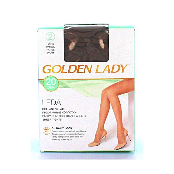 GOLDEN LADY LEDA 20 22A DAINO 2 PAIA TAGLIA 3    , CALZE, COLLANT & GAMBALETTI, S016610, 13767