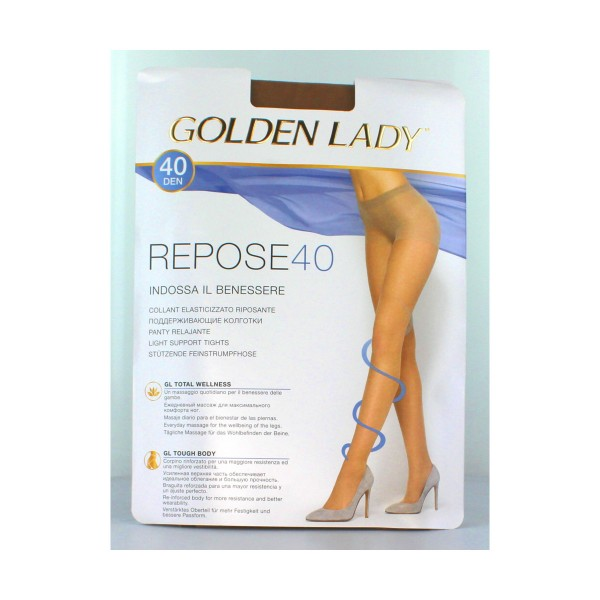 GOLDEN LADY REPOSE 40 36G MELON T.XL       , CALZE, COLLANT & GAMBALETTI, S018512, 18184