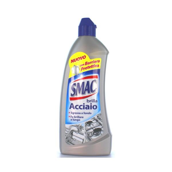 SMAC BRILLACCIAIO CREMA 500 ML., PULITORI METALLI, S015826, 21559