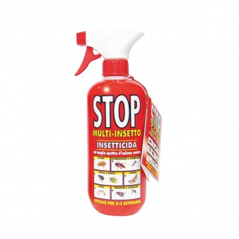 STOP INSETTICIDA MULTINSETTO NO GAS 375 ML