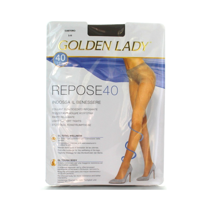 GOLDEN LADY REPOSE 40 36G CASTORO TAGLIA 3