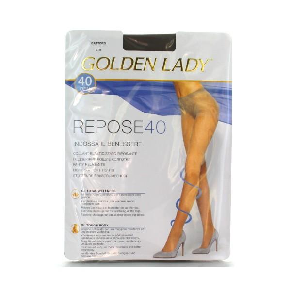 GOLDEN LADY REPOSE 40 36G CASTORO TAGLIA 3       , CALZE, COLLANT & GAMBALETTI, S016588, 23771
