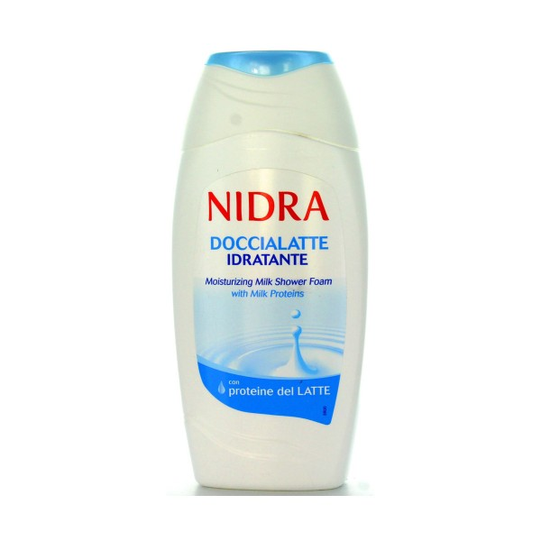 NIDRA DOCCIASCHIUMA LATTE IDRATANTE 250 ML, BAGNO/DOCCIA SCHIUMA, S006390, 25459