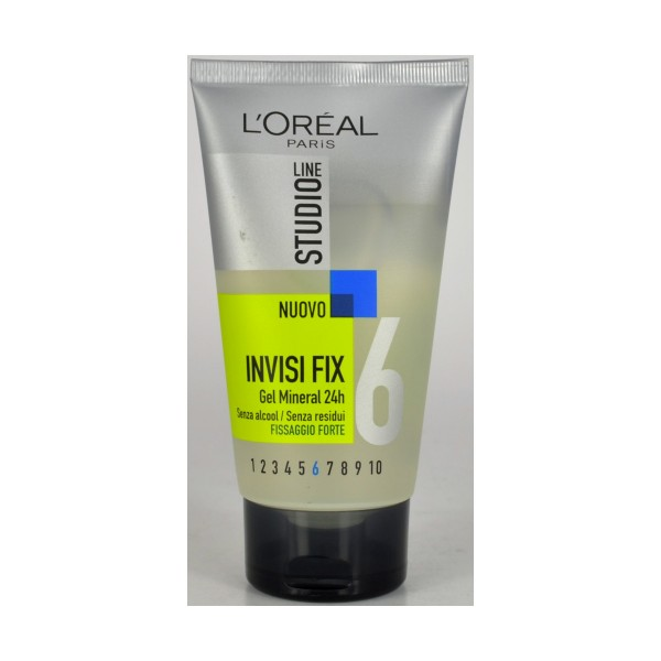 STUDIO LINE INVISI FIX GEL FORTE TUBO 150 ML, FISSATIVI, S003455, 25932