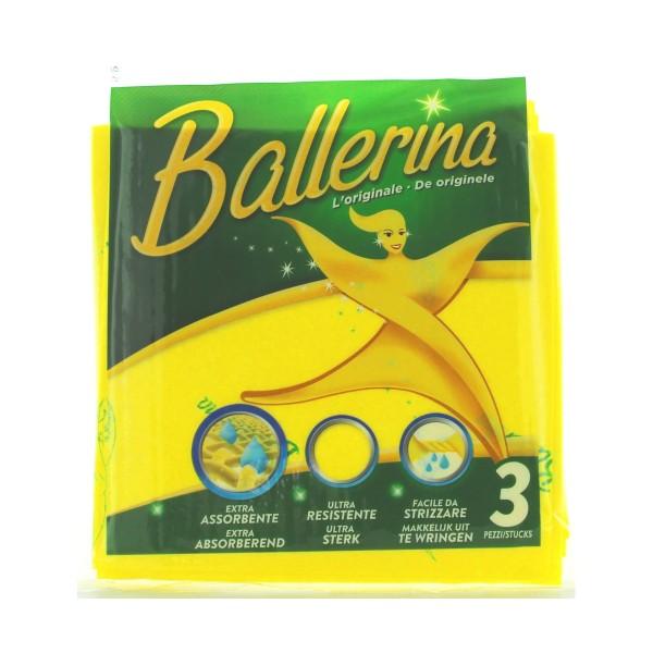 VIM PANNO BALLERINA 3 PZ., PANNI VETRO / MULTIUSO, S007398, 36527