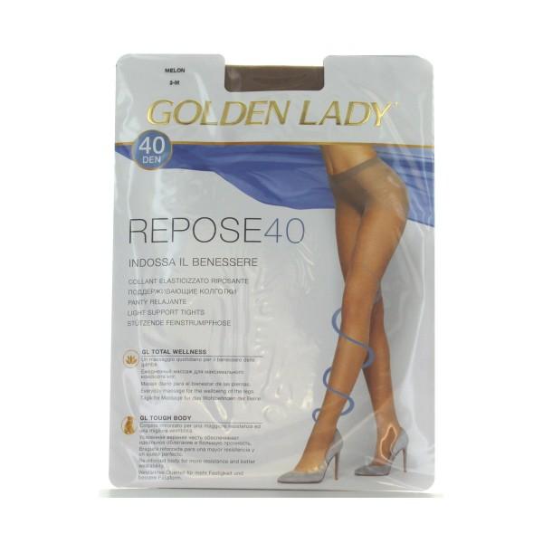 GOLDEN LADY REPOSE 40 36G MELON TAGLIA 3         , CALZE, COLLANT & GAMBALETTI, S018510, 36574