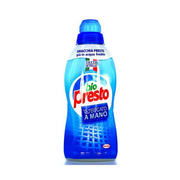 BIO PRESTO DETERSIVO BUCATO A MANO LIQUIDO 750 ML, BUCATO A MANO, S004749, 38896