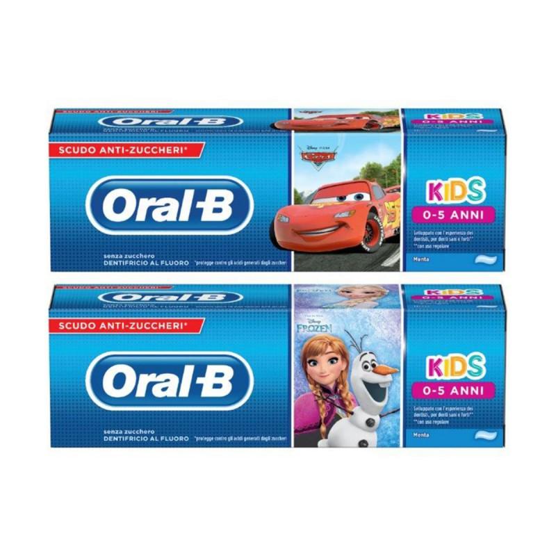 ORAL B DENTIFRICIO KIDS 0-5 ANNI ASSORTITO 75 ML
