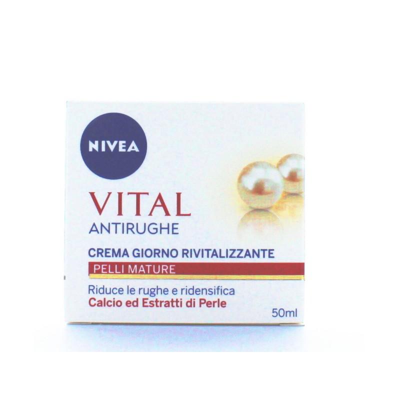 NIVEA VISO CREMA RIVITALIZZANTE VITAL GIORNO 50 ML
