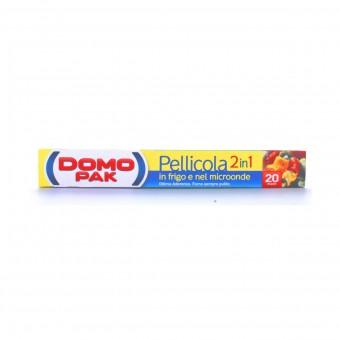 DOMOPAK PELLICOLA 2IN1 IN FRIGO E MICROONDE - 20 METRI