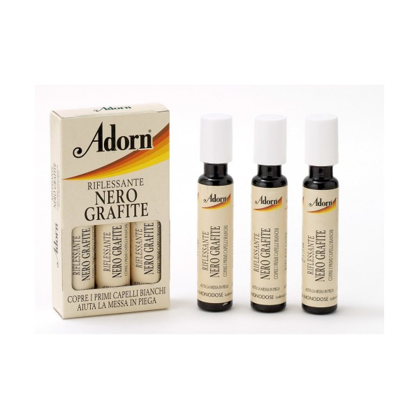 ADORN FIALE RIFLESSANTI NERO GRAFITE 3x20 ML         , COLORANTI, S004157, 41749
