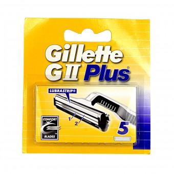 GILLETTE G2 PLUS RICAMBI 5 PZ.