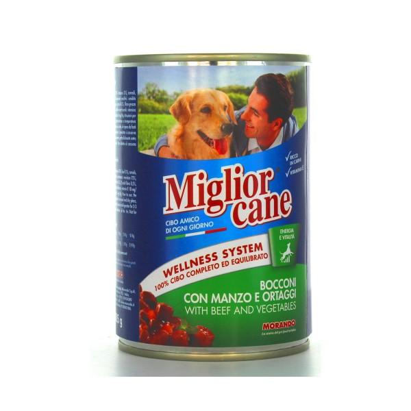 MIGLIOR CANE BOCCONI MANZOeORTAGGI LATTINA 405 GRAMMI, NUTRIZIONE, S006123, 41852