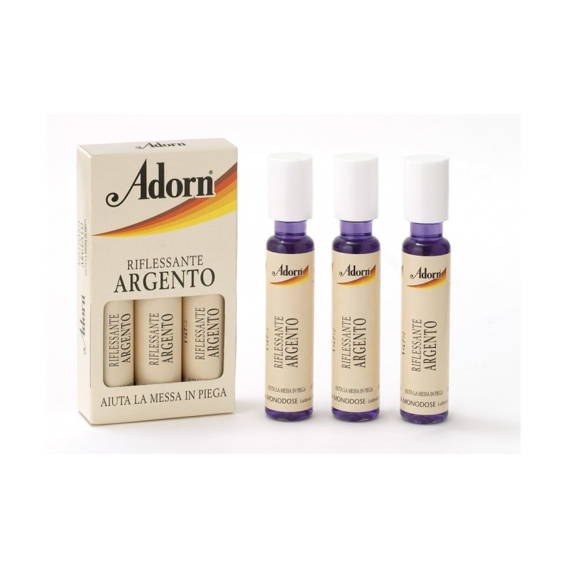 ADORN FIALE RIFLESSANTI ARGENTO 3x20 ML