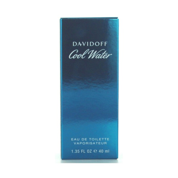 DAVIDOFF COOL WATER MEN EDT 40 ML.VAPO  , PROFUMI UOMO, S006160, 5142