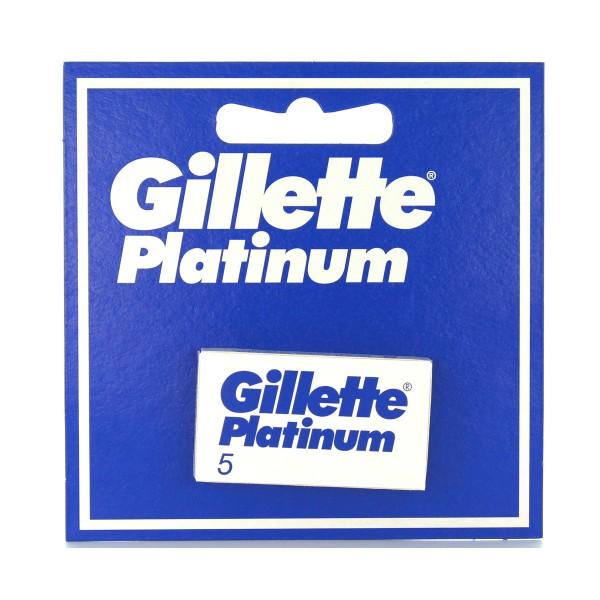GILLETTE LAME PLATINUM 5 PZ. RICAMBI, LAME E RASOI PER UOMO, S000480, 56365