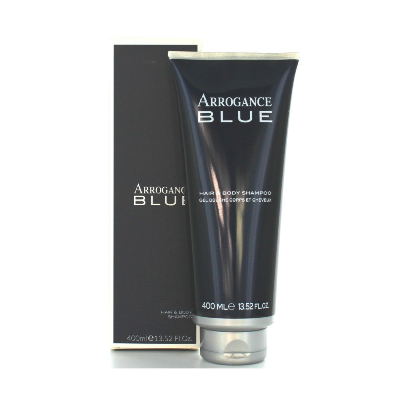 ARROGANCE BLUE UOMO HAIR AND BODY SHAMPOO 400 ML