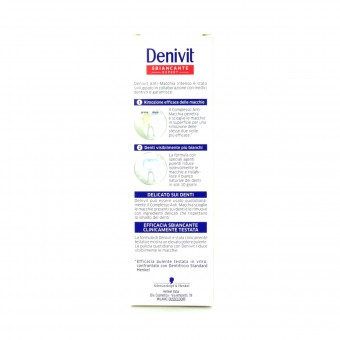DENIVIT DENTIFRICIO ANTIMACCHIA INTENSO 50 ML.
