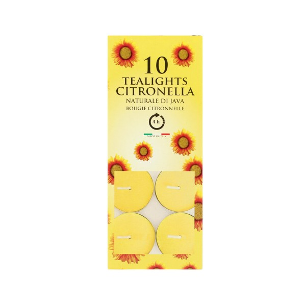 CITRONELLA DI JAVA INSETTICIDA 10 LUMELLE, INSETTICIDI VOLANTI, S090973, 59104
