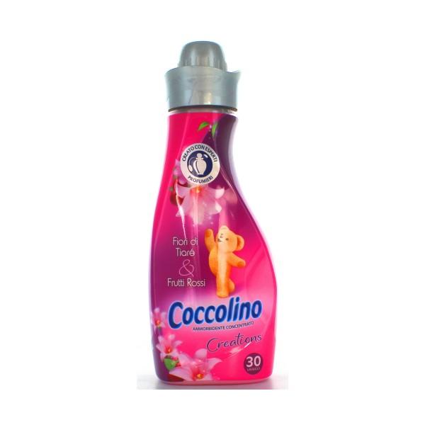 COCCOLINO CONCENTRATO 30 LAVAGGI FIORI DI TIARE'&FRUTTI ROSSI AMMORBIDENTE MINI, AMMORBIDENTI, S122445, 60019
