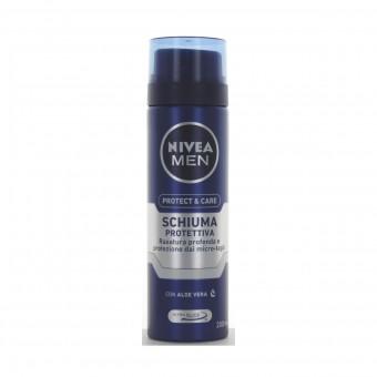 NIVEA FOR MEN SCHIUMA DA BARBA PROTETTIVA 200 ML.