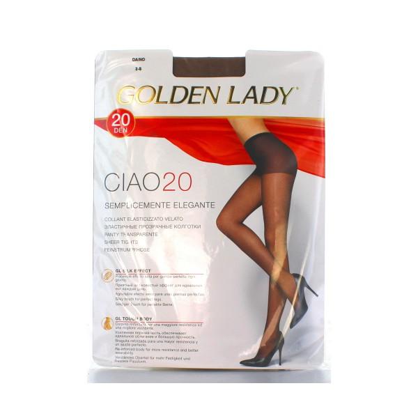 GOLDEN LADY CIAO COLLANT 20 DEN DAINO TAGLIA 2           , CALZE, COLLANT & GAMBALETTI, S016564, 6346