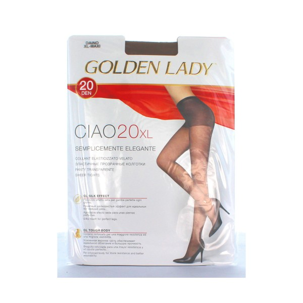 GOLDEN LADY CIAO COLLANT 20 DEN DAINO TAGLIA XL         , CALZE, COLLANT & GAMBALETTI, S018492, 6351