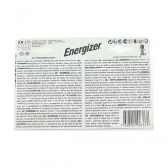 ENERGIZER AA STILO 1,5V MAX ALKALINE BLISTER 4+4 PZ