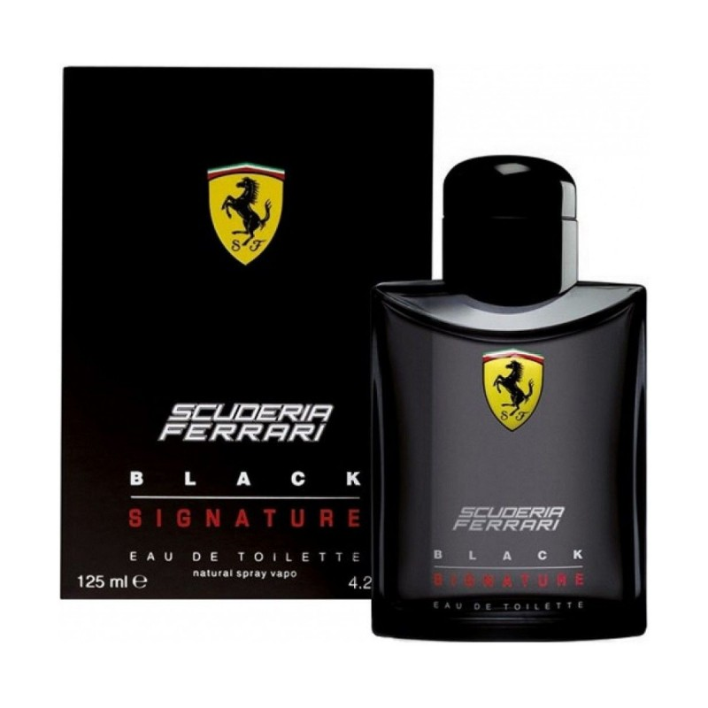 FERRARI BLACK SIGNATURE EDT VAPO 125 ML