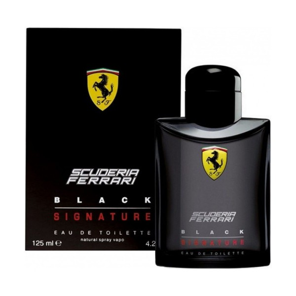 FERRARI BLACK SIGNATURE EDT VAPO 125 ML, PROFUMI UOMO, S157671, 69948