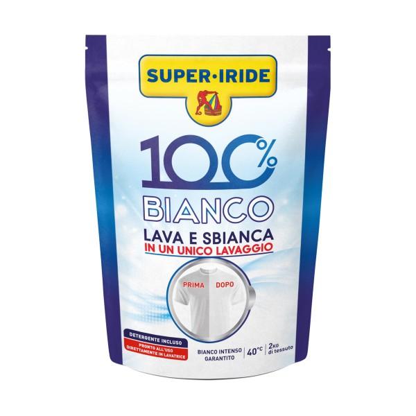 SUPER IRIDE 100% BIANCO LAVA E SBIANCA BUSTA 400 grammi, TRATTAMENTO BUCATO, S157544, 69962