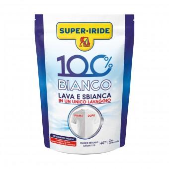 SUPER IRIDE 100% BIANCO LAVA E SBIANCA BUSTA 400 grammi