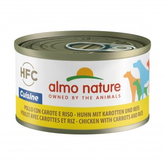 ALMO NATURE CUISINE CANE - POLLO CON CAROTE E RISO LATTINA 95 grammi