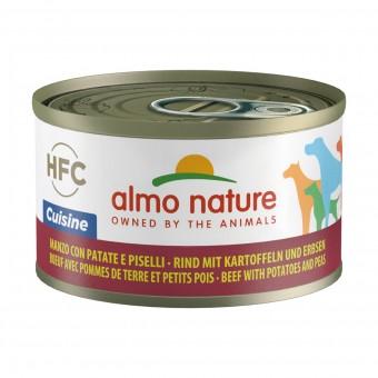 ALMO NATURE CUISINE CANE - MANZO CON PATATE E PISELLI LATTINA 95 grammi