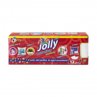 SUPER FIVE PANNO JOLLY MICROFIBRA MULTIUSO 12 PZ