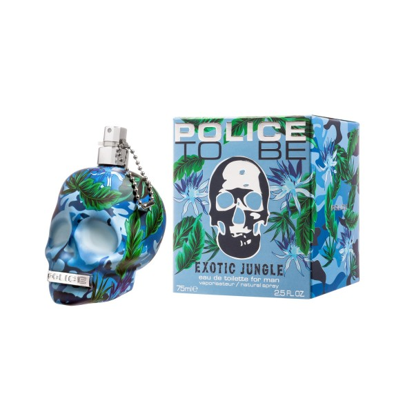 POLICE TO BE EXOTIC JUNGLE FOR MAN EDT VAPO 75 ML, PROFUMI UOMO, S156046, 70444