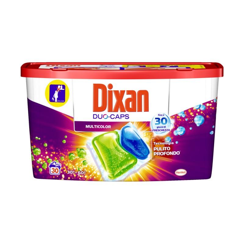 DIXAN DUO-CAPS MULTICOLOR 30 CAPS