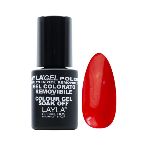 LAYLA SMALTO IN GEL COLORE REMOVIBLE 218 HOT OR NOT, UNGHIE, S155844, 70498