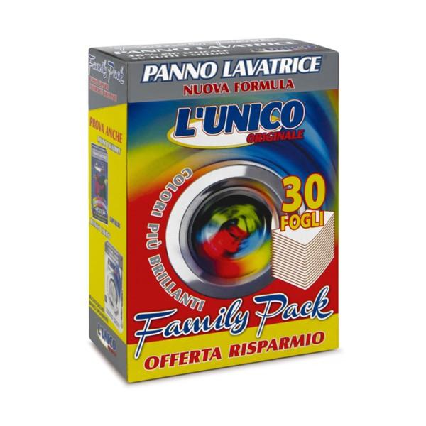 L'UNICO ORIGINALE PANNO LAVATRICE COLORI BRILLANTI 30 FOGLI - CATTURA COLORI- , TRATTAMENTO BUCATO, S155806, 70521