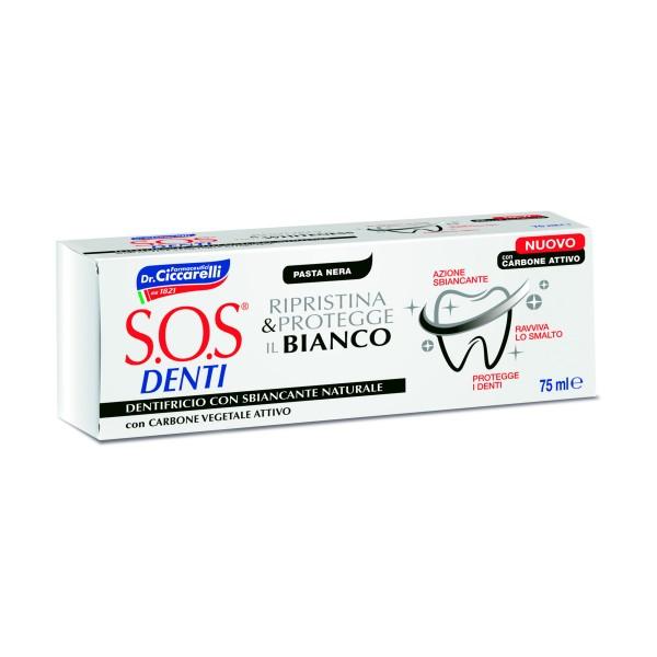 Dr.CICCARELLI S.O.S DENTI RIPRISTINA & PROTEGGE IL BIANCO 75 ML , DENTIFRICI, S155709, 70584